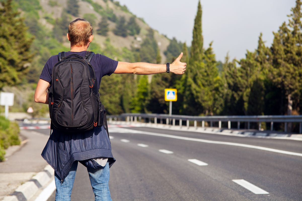 Hitchhiking In Europe