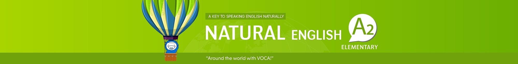 NATURAL ENGLISH A2 (2019) banner