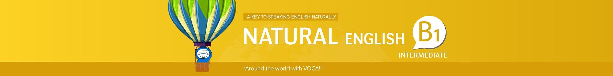 NATURAL ENGLISH B1 (2019) banner