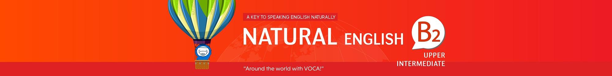 NATURAL ENGLISH B2 banner