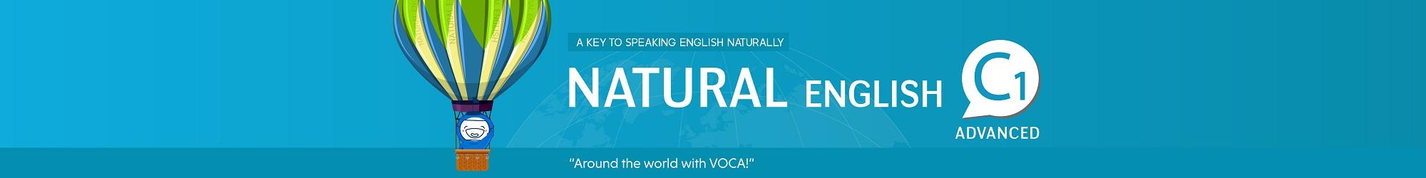 NATURAL ENGLISH C1 (2019) banner
