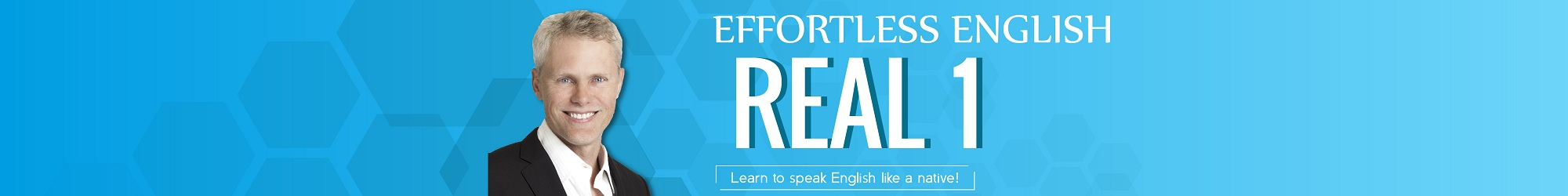 LEARN REAL ENGLISH banner